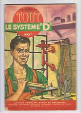 """TOUT LE SYSTEME """"D"""" - déc. 1954 - n° 108 -  articles divers - 96 pages"""