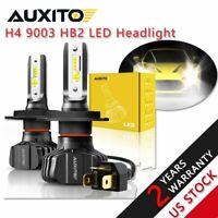 2X H4 9003 HB2 9000LM LED Headlight Bulb Conversion Kit High Low Beam 6500K B7