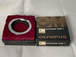 Genuine Olympus OM Extension Tube 7 Fits - OM1 / OM2 / OM3 / OM4, etc. Near Mint