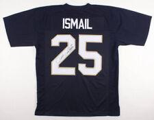 "Raghib ""Rocket"" Ismail Autographed Custom Jersey (Notre Dame) - Jsa Coa!"