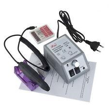 Manicure Pedicure Electric Drill File Nail Art Pen Machine Kit Set P&T