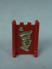 Stratego 1977 Red Major #4 Replacement Board Game Piece
