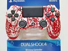 SONY PS4 CUSTOM BLOOD SPLATTER CONTROLLER, .... BRAND NEW