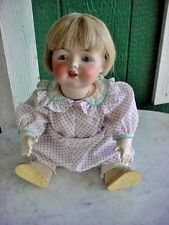 Antique Fulper Bisque Character Baby Doll Mold A11 Sweet Face