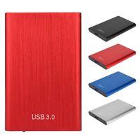 "2.5"" Inch SATA USB 3.0 Hard Drive HDD Enclosure External Laptop SSD Disk Case GB"
