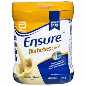 Abbott (Glucerna SR) Ensure Diabetic Care Sugar Free Vanilla Flavor 400gm