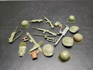"""Vintage lot of 1960's Marx~Stony Smith 12"""" Action Figure Accessories"""
