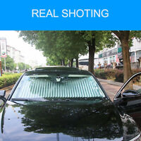 Retractable Car Sun Shade Visor Windshield Folding Auto Cover Front Window 70CM