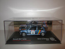 RENAULT 5 / R5 GT TURBO N°4 Rallye BANDAMA 1990 au 1/43 avec Boite
