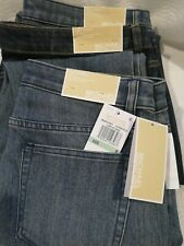 New Michael Kors Izzy Skinny Mid Rise Jeans Womens MSRP $99.50 Size 8, 16 NWT