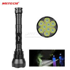 NKTECH NK-9T6 9x Bulb XML T6 LED 11000LM Bike Flashlight Torch HeadLamp Outdoor