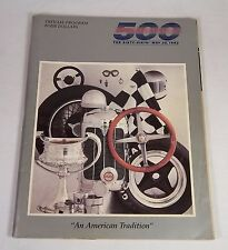 Indianapolis 500 Official Program The Sixty-Sixth Race Yearbook May 30, 1982