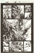 X-Men #207 p.4 - Predator X Action - 2008 art by Chris Bachalo