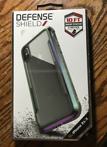 Raptic Defense Shield Phone Case for iPhone Xs/X Opened Box