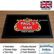PERSONALISED BAR WORKTOP RUNNER. PUB / CLUB / SHOP / HOME. YOUR NAME ADDED