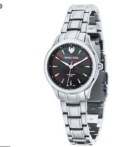 Swiss Eagle Ladies Wristwatch, Model SE-6047 Akilina, New