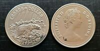 Canada 1980 Arctic Islands Specimen UNC Silver Dollar!!
