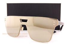 Brand New Christian Dior Sunglasses Diorizon 1 2M2 Black Gold/Gold Mirror Women