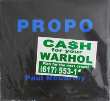 Paul Art McCarthy / Propo First Edition 1994