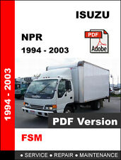 ISUZU NPR 1994 - 2003 FACTORY OEM SERVICE REPAIR WORKSHOP MAINTENANCE FSM MANUAL