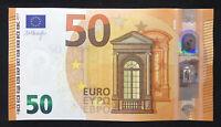 Euro 50 Banknote, 2017 Version, UNC, Prefix-VA, Printer V