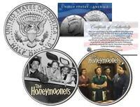 THE HONEYMOONERS * TV SHOW * Colorized JFK Half Dollar 2-Coin Set Ralph Kramden
