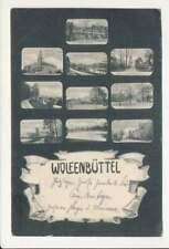 AK Wolfenbüttel, Mehrbildkarte, gelaufen 1905 (58651)