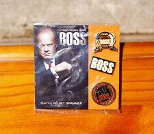 Boss Starz Original Series Chicago's Toughest Mayor Metal Enamel Pin Pinback Set