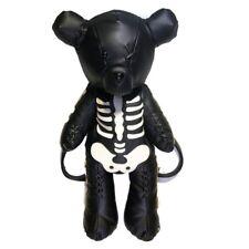 Kawaii Clothing Harajuku Teddy Bear Punk Black Skeleton Skull Bag Backpack Goth