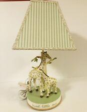 Sweet Little One Babies R Us Giraffe Lamp Square Shade Green Nursery Boys Girls
