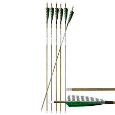 "6-er Pack Hawk Carbonpfeil Holzopik 31"" (78,7 cm) Spine 500 ø  5,9 mm"