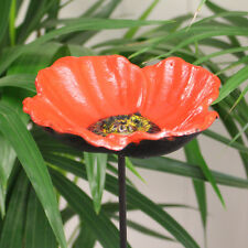 Gardman Wild Bird Poppy Flower Dish Bird Feeder on Pole