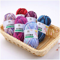 50g/ball Thread Gradient Knitting Wool Yarn Warm Soft Crochet Yarn For Knitting