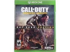 Call of Duty: Advanced Warfare + Ghosts (Xbox one game) Physical copies