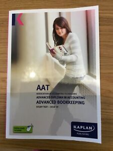 AAT Level 3 Advanced Bookkeeping Study Text