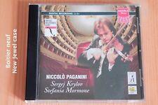 Paganini - Cantabile Campanella Sonate 12 - Krylov - Mormone - CD Agora
