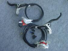 Hydraulische Scheibenbremse Shimano BR-M447+BL-M445 neu kompl.vorn hinten silber