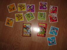 Looney Tunes Die Total verückte Sportarene Sammelkarten 15 18 und Memory Karten
