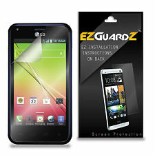 3X EZguardz Screen Protector Shield 3X For LG Optimus F3Q (Ultra Clear)
