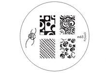 KONAD Stamping Nail Art Image Plate m65 USA FREE SHIPPING