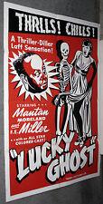 LUCKY GHOST movie poster MANTAN MORELAND original one sheet 27x41 1942