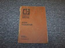 Caterpillar Cat 613B Motor Scraper Factory Original Parts Catalog Manual Book