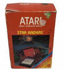 Star Raiders Atari 2600 ~ W/ Box, Pad & Game