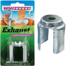 Exhaust Whistle Trick Whistles Noisey Auto Car Joke Prank Stocking Filler Fun