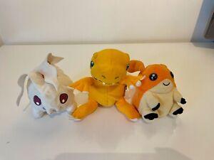 Digital Digimon Assortment of Soft Toys Set