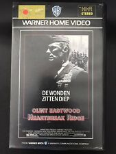 Heartbreak Ridge Ex-Rental Vintage Big Box VHS Tape English with dutch subs