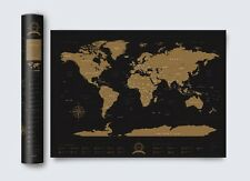 World Scratch map MYSTIQ Edition COD Paypal