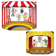 PUPPET SHOW / THEATER CIRCUS PHOTO PROP Birthday Party Decoration