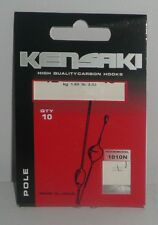 Kensaki: hameçons montés N°12 0,12mm pole