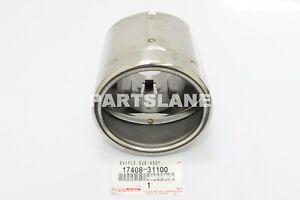 LEXUS GENUINE IS250 IS350 OEM BAFFLE EXHAUST MUFFLER TAIL PIPE TIP 17408-31100